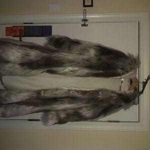 Furrocious Fur Playa Coat